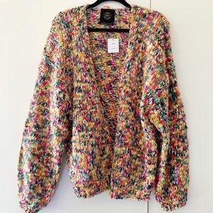Urban Outfitters Confetter Multicolor Cardigan